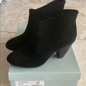 New to Posh! Jessica Simpson suede boot